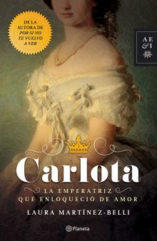 """Carlota"" the new novel by Laura Martínez Belli"