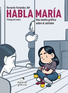 """Maria Talks"", the new graphic novel by Bef"
