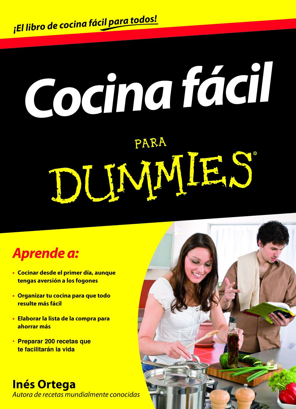 Cooking for dummies agencia literaria schavelzon graham - Libros de cocina ...